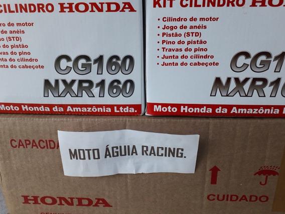 Kit Cilindro Completo Titan/nx Broz 160 Hamp Original Honda
