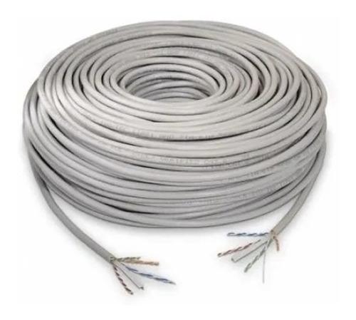 Rollo De Cable Utp 5e Interior 305 Metros 65% Color Blanco
