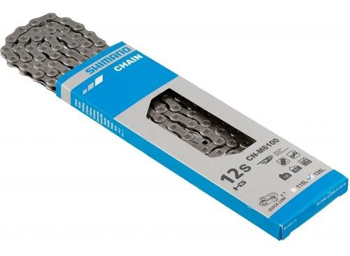 Imagen 1 de 2 de Cadena Shimano Deore M6100 12v 126 Eslabones - Ciclos