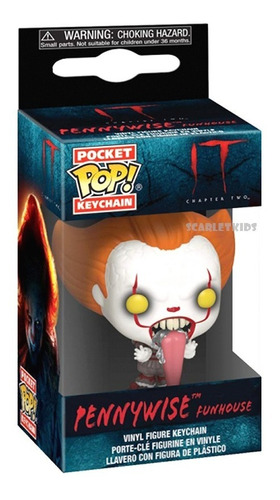Llavero Funko Pennywise It 2 Funhouse Keychain Scarletkids