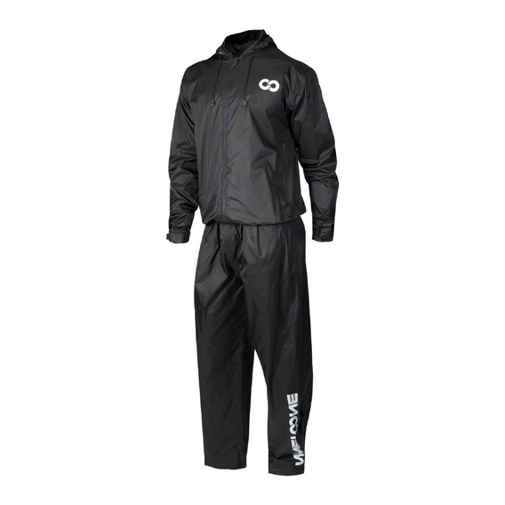 Equipo De Lluvia Moto Impermeable Nine To One Bluster Ls2