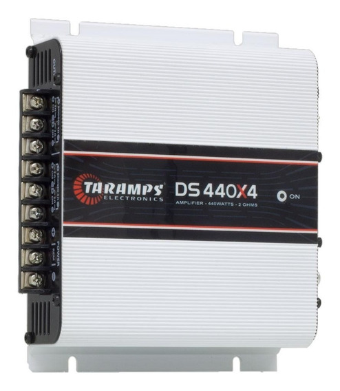 Módulo Amplificador Digital Taramps Ds 440x4 4 Ch, 440 Wrms