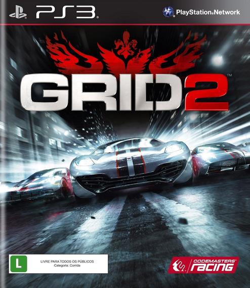 Jogo Grid 2 Playstation 3 Ps3 Mídia Física Corrida Original