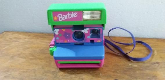 Camera Polaroid Barbie No Estado Decoração Coleção Usada