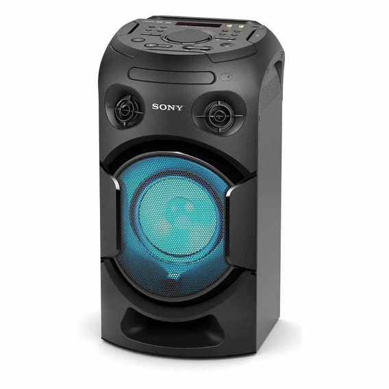 Sistema De Audio Portátil Sony Mhc V21d Cd Bt Karaoke