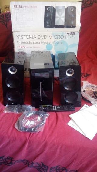 Equipo Sonido Dvd Micro Hi- Fi Sirve Para iPod Y iPhone Lg