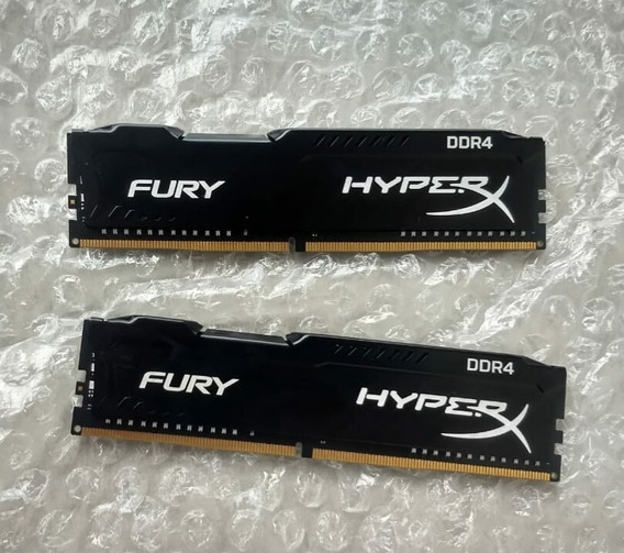 2x4gb De Memória Ram Hyperxfury 2400mhz Ddr4