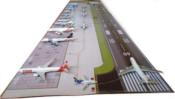 Aeroporto 1:400 200 X 50cm Base Para Boeing Airbus Miniatura