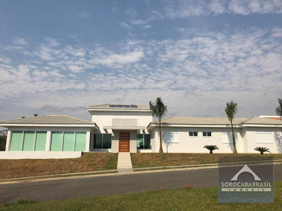 Casa Com 3 Dormitórios À Venda, 274 M² Por R$ 1.100.000 - Condomínio Saint Charbel - Araçoiaba Da Serra/sp. - Ca0086
