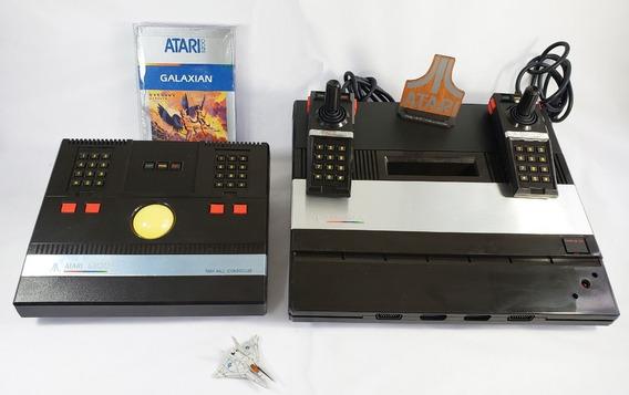 Console Atari 5200 Lindo 2 Joystick Trak-ball Jogo Lacrado
