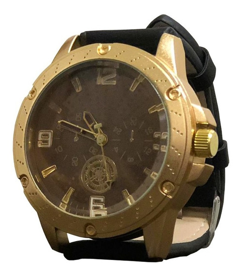 Relógio Masculino Preto Original Orizom