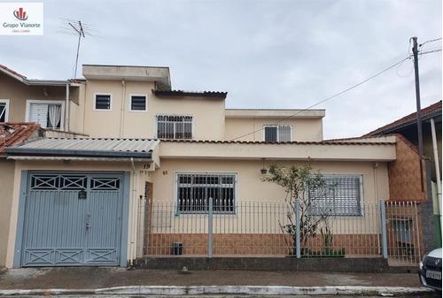 Sobrado A Venda No Bairro Vila Constança Em São Paulo - Sp.  - Jv1036-1