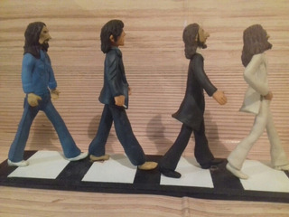 Figuras The Beatles Abbey Road