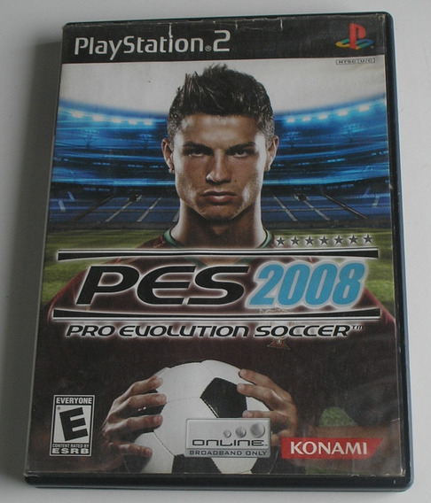 Pro Evolution Soccer 2008 Ps2 Original Usado