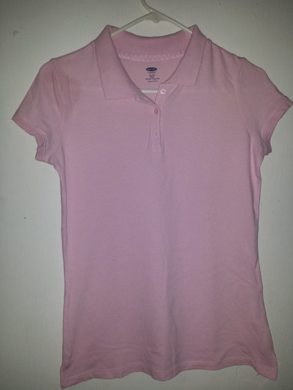 Playera Polo Old Navy Rosa Original Xl Youth