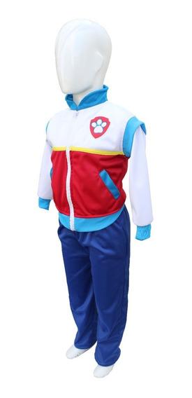 Pans-disfraz Rider Paw Patról Exc. Calidad Diseño Original