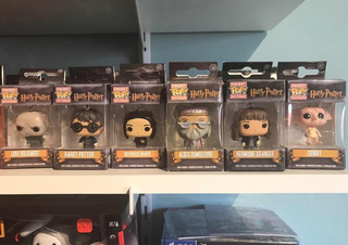 Llaveros Harry Potter Funko