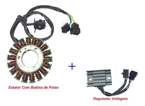 Estator + Regulador Voltagem Yes Todas / Intruder 125 08/10