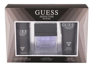 Guess Seductive Set 3 Piezas Eau De Toilette Caballero