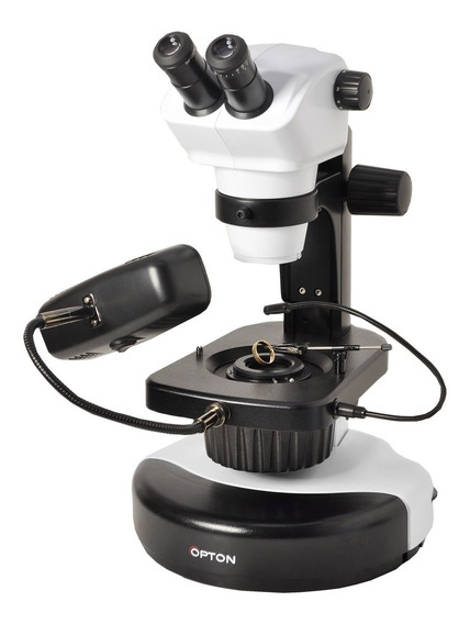 Microscópio Estereoscópico Binocular Gemologia Análise Gemas