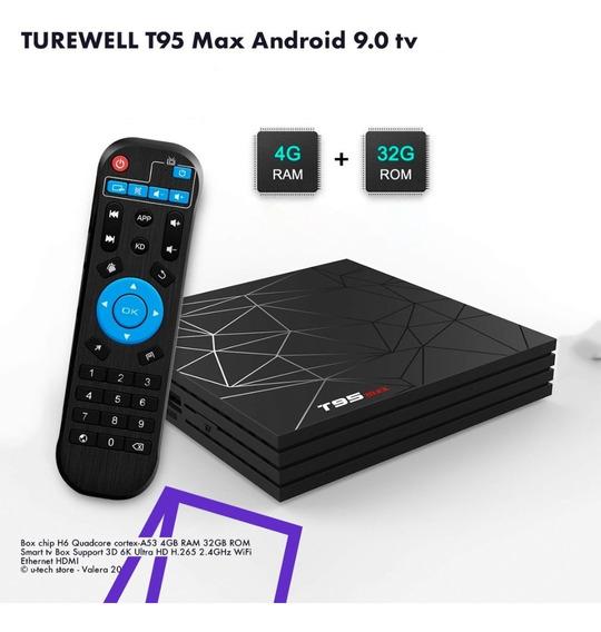 Android Tv Box Android 9.0 Smartv 4gb/32gb (45v)
