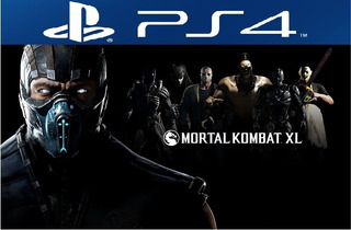 Mortal Kombat Xl Ps4 Digital Juga Con Tu Usuario Hoy!