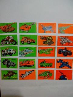Lote De 20 Stickers De Gi Joe Zona Retro Juguetería Vintage