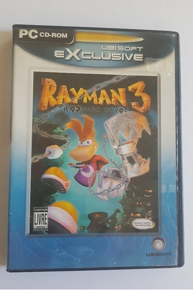 Ray Man 3 - Hoodlum Havoc - 3 Cds Para Pc Games