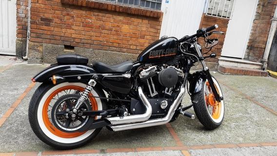 Harley- Davidson Forty-eight / Xl 2014 / Cc. 1.203