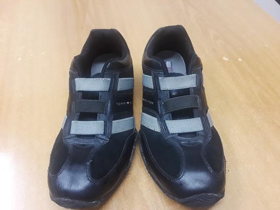 Zapatillas Tipo Zapato Tommy Hilfiger Sin Cordones Talle 5.5
