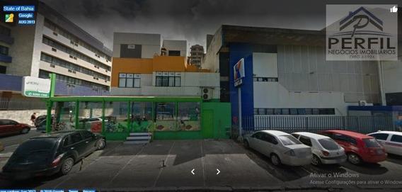 Casa Comercial Para Locação Em Salvador, Barra, 1 Dormitório, 4 Banheiros, 5 Vagas - 797
