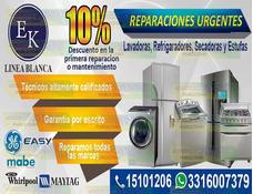 Reparacion Lavadoras Refrigerador Secadora Estufa