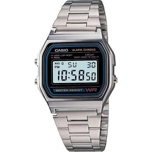 Relógio Casio Masculino Digital A158wa-1df