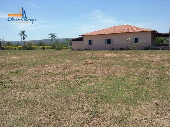 Fazenda Com 4 Dormitórios À Venda, 2025000 M² Por R$ 7.200.000 - Zona Rural - Alexânia/go - Fa0010