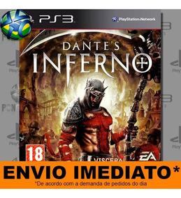 Jogo Ps3 Dantes Inferno Psn Play 3 Mídia Digital
