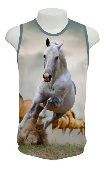 Camiseta Cavalos - Ml01 - Regata