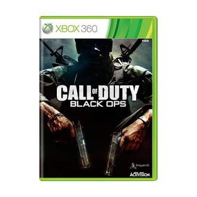 Call Of Duty Black Ops Xbox 360 Mídia Física