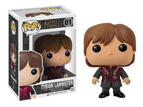 Funko Pop Tyrion Lannister #01 Game Of Thrones Regalosleon