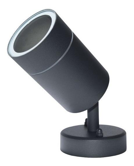 Lámpara Gu10 35w Diseño En Cilindro Con Luz De Proyección