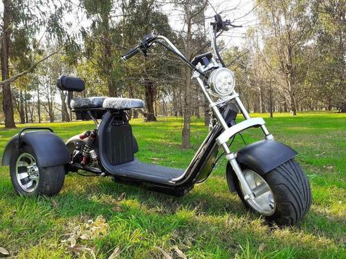 Triciclo Moto Eléctrica Tricoco Citycoco - Trike Uruguay