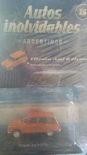Coleccion Autos Inolvidables Argentinos. N°26. Citroën Ami8