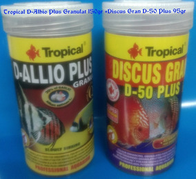 Tropical D-alhio Plus 150gr+tropical Discus Gran D-50-110gr