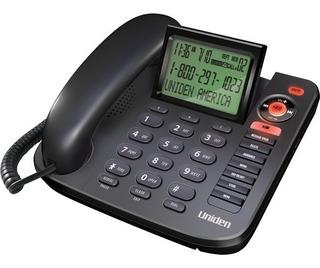 Teléfono Uniden 1380bk Alámbrico Envio Gratis