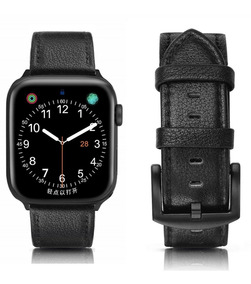 Pulseira Apple Watch Couro Legítimo Rústica 44mm 40mm + Case