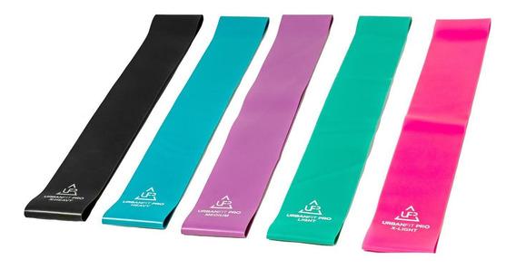 Bandas Resistencia Kit Ligas Latex Yoga Calidad Premium
