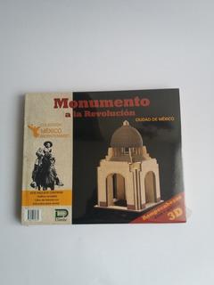 Monumento A La Revolución Rompecabezas 3d De Madera