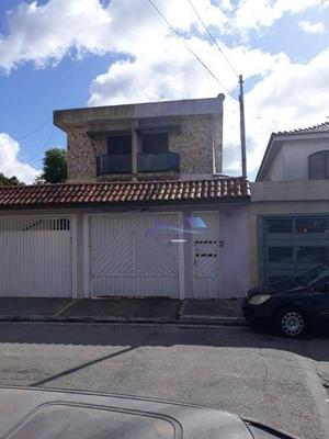 Sobrado Com 3 Dormitórios Para Alugar, 140 M² Por R$ 2.490/mês - Jardim Brasília (zona Leste) - São Paulo/sp - So0082