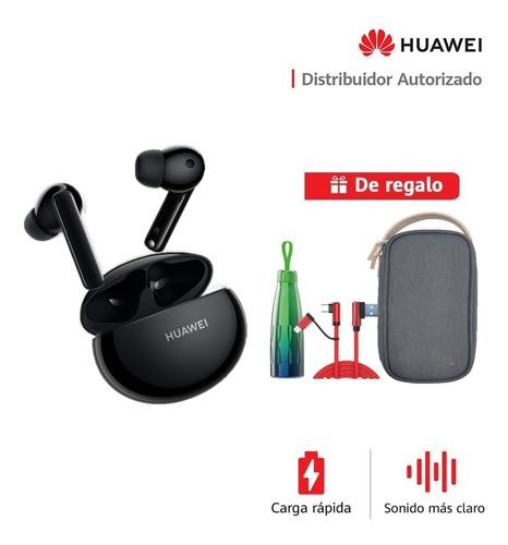 Imagen 1 de 6 de Huawei Freebuds 4i Negro + Thermo + Usb-c + Storage Bag
