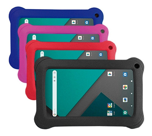 Tablet Overtech Ox7 16gb 1gb 7 Android 10 A50 Quad Core Ms