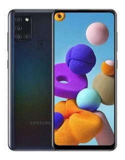 Telefone Smartphone Celular Samsung Galaxy A21s Azul